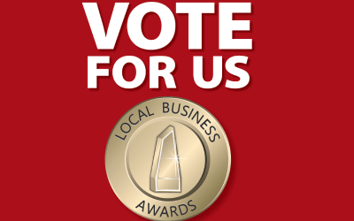 Vote for us: Local Business Awards
